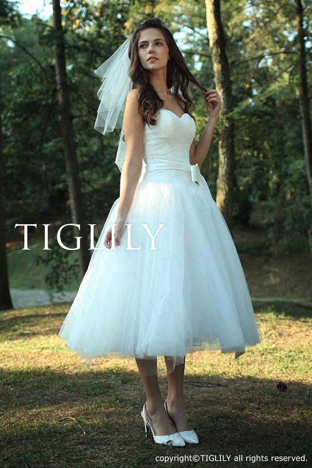 TIGLILY ミニドレス s091