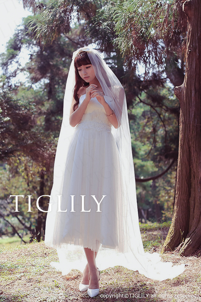 TIGLILY ミニドレス s116