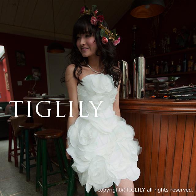 TIGLILY ミニドレス s118