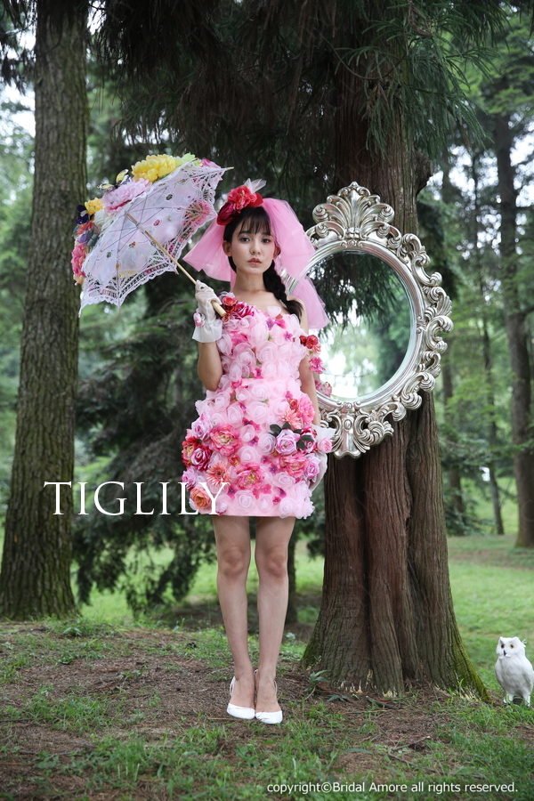 TIGLILY ミニドレス s135