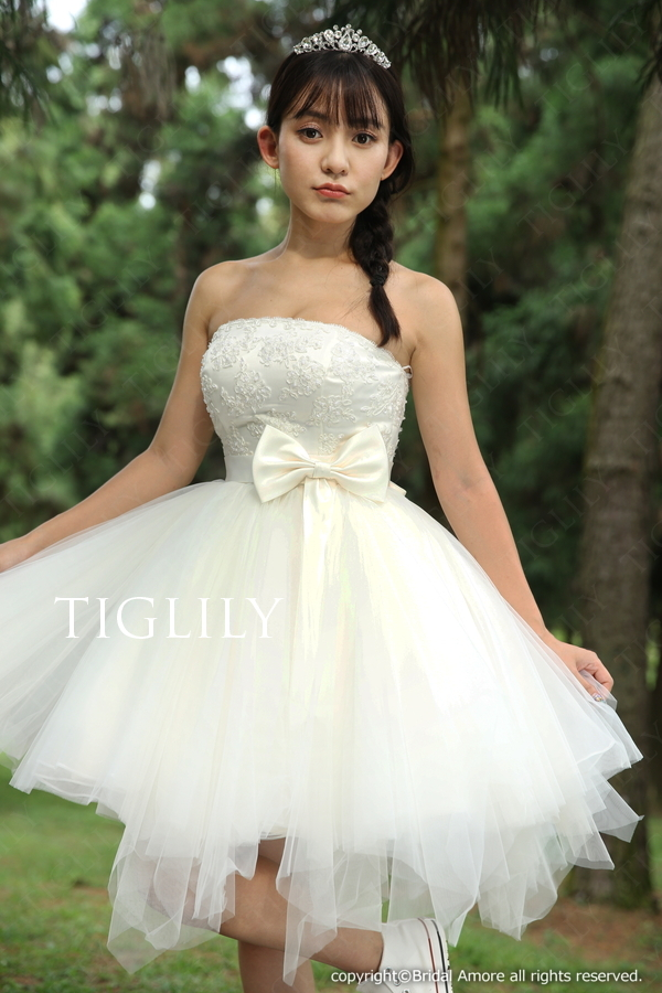 TIGLILY ミニドレス s139