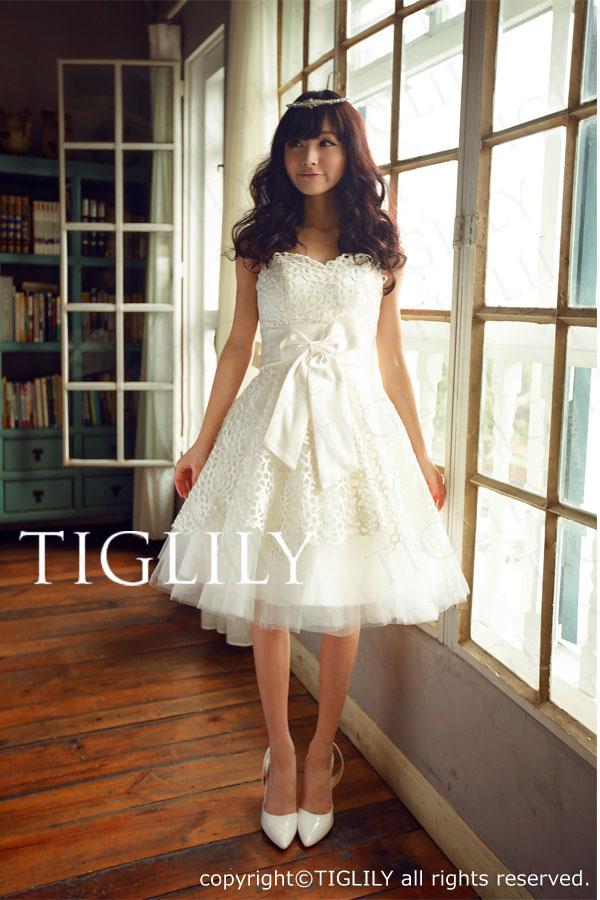TIGLILY ミニドレス s140