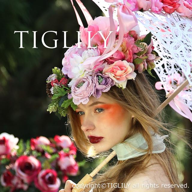 TIGLILY ヘッドドレスTIGLILY ヘッドドレス(th051)