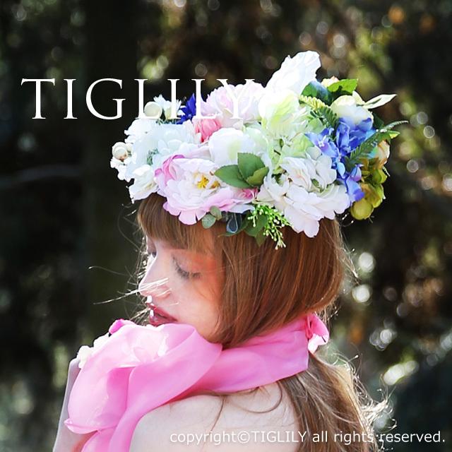 TIGLILY ヘッドドレスTIGLILY ヘッドドレス(th052)