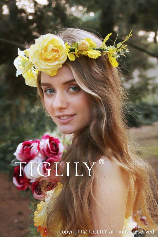 TIGLILY オリジナル花冠 th064