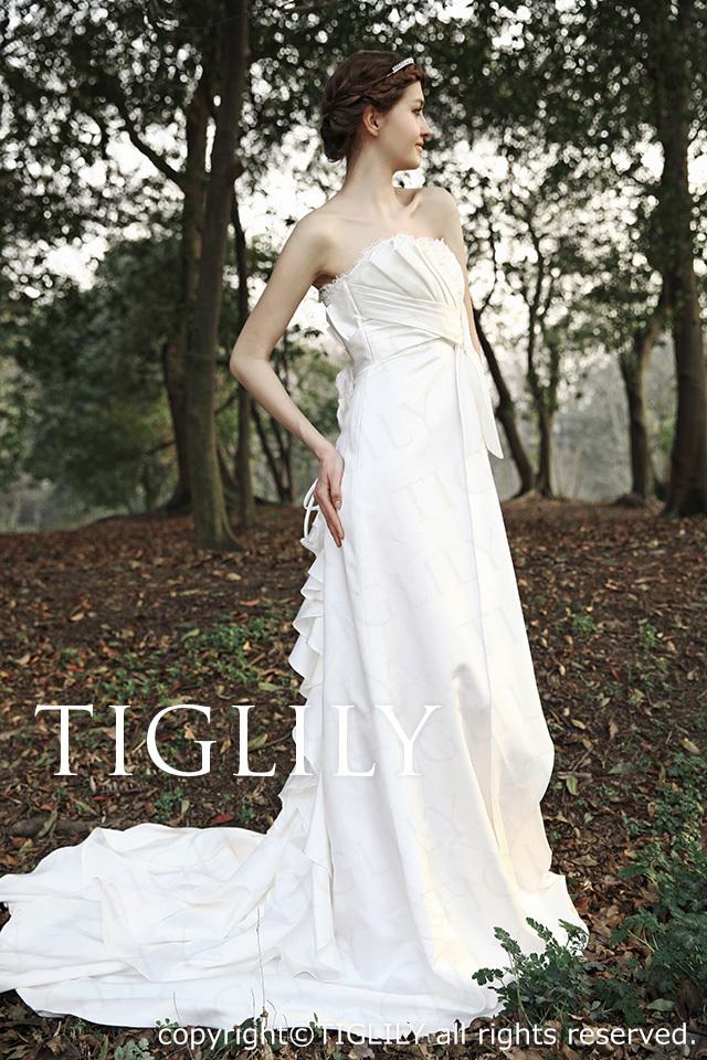 TIGLILY ホワイトドレス w025