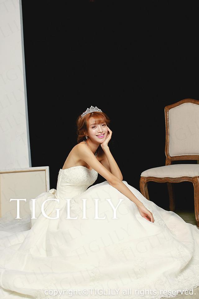 TIGLILY ホワイトドレス w1107
