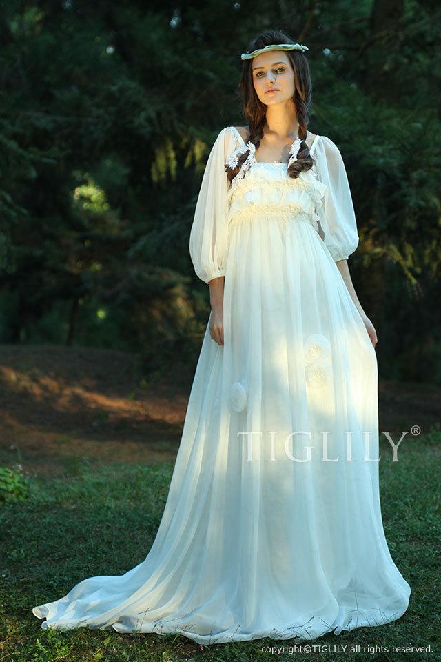 w1109 TIGLILY ホワイトドレス ウェディングドレス