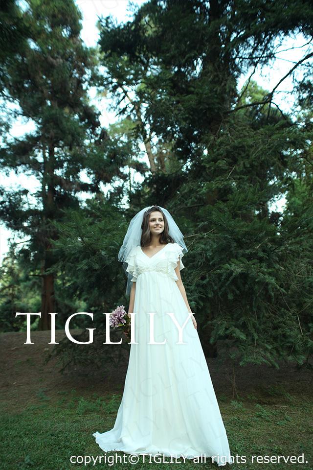 w1110 TIGLILY ティグリリィ ホワイトドレス