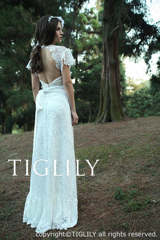 TIGLILY ホワイトドレス w1115