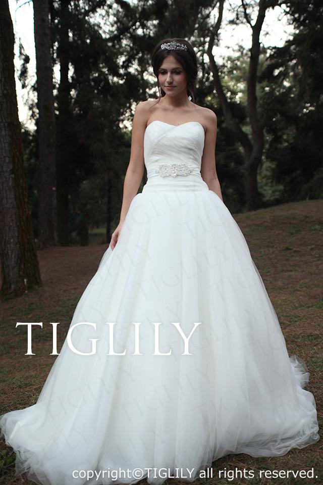 TIGLILY ホワイトドレス w1116
