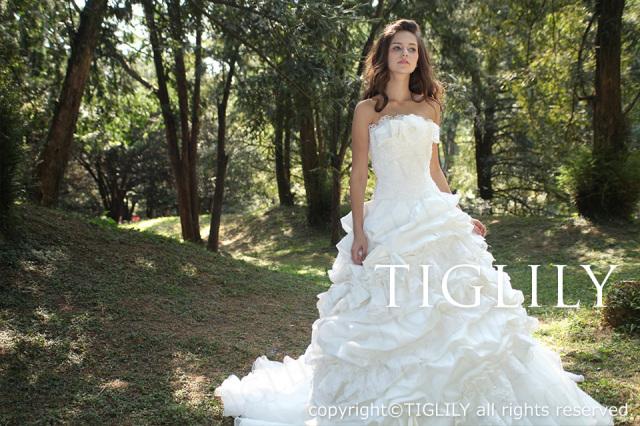 TIGLILY ホワイトドレス w1118