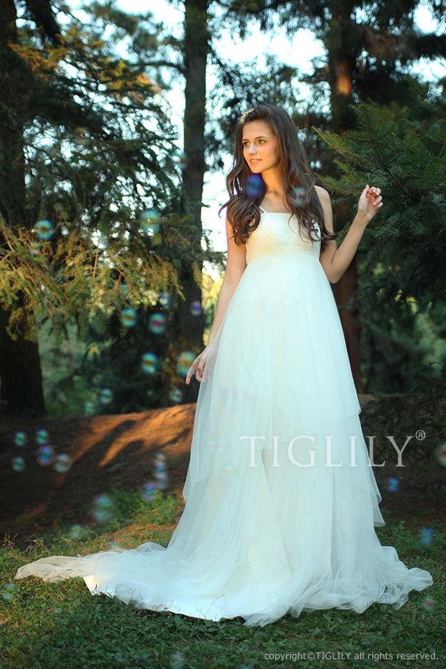w194 TIGLILY ホワイトドレス ウェディングドレス