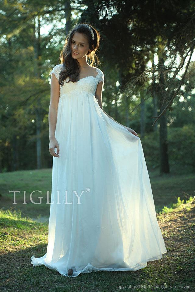 w2001 TIGLILY ホワイトドレス