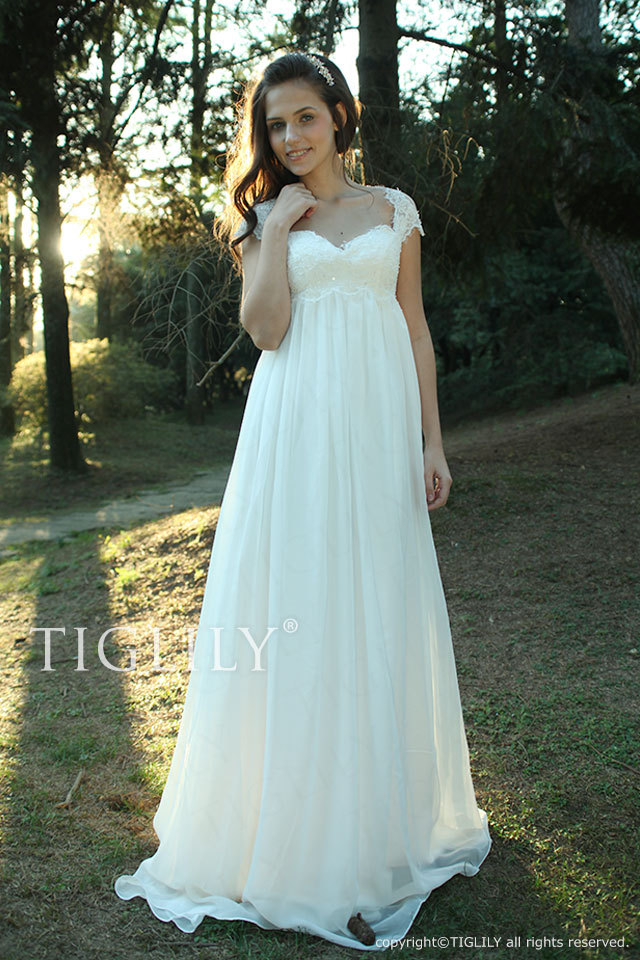 w2001 TIGLILY ティグリリィ ホワイトドレス