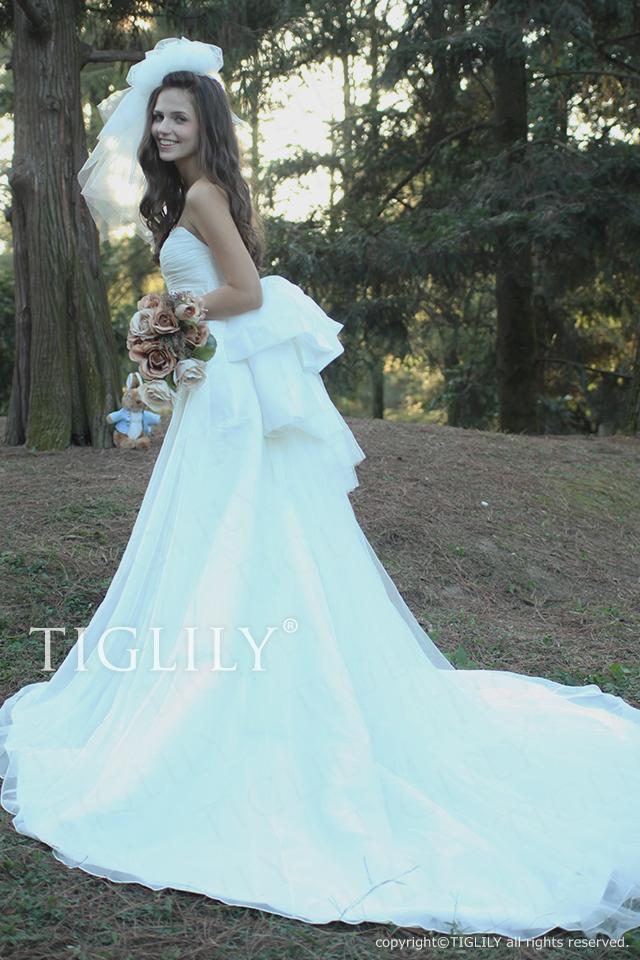 w2003 TIGLILY ティグリリィ ホワイトドレス
