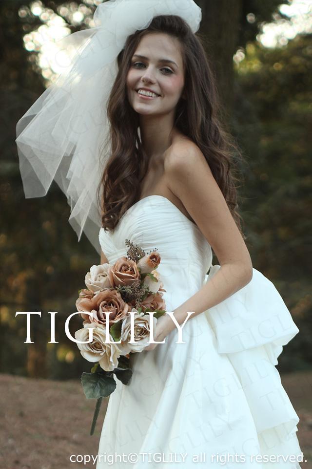 TIGLILY ホワイトドレス w2003