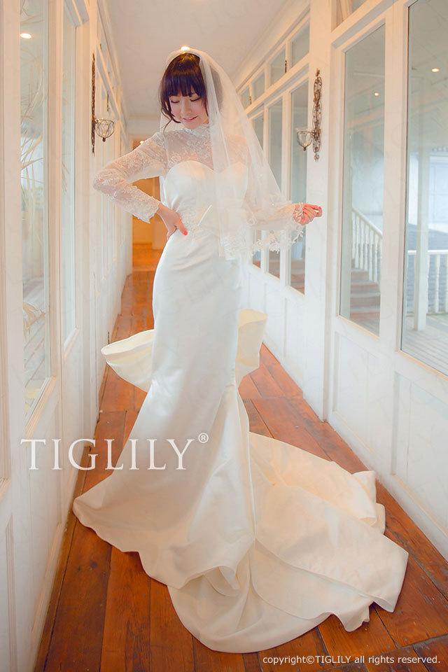 w2006 TIGLILY ティグリリィ ホワイトドレス