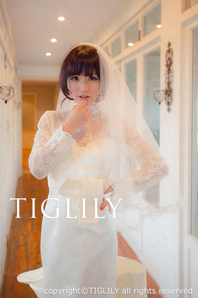 TIGLILY ホワイトドレス w2006