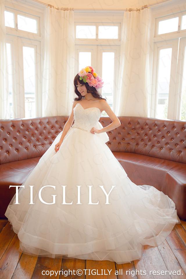 TIGLILY ホワイトドレス w2008