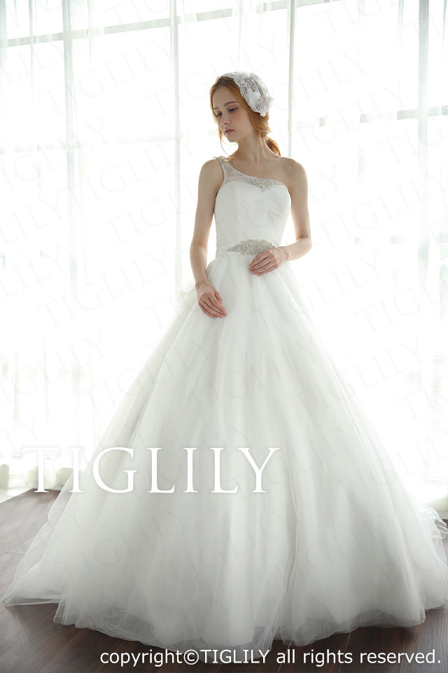 TIGLILY ホワイトドレス w2011