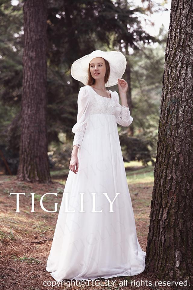 TIGLILY ホワイトドレス w2012