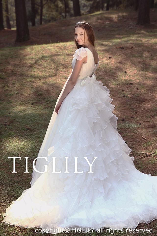 TIGLILY ホワイトドレス w2013