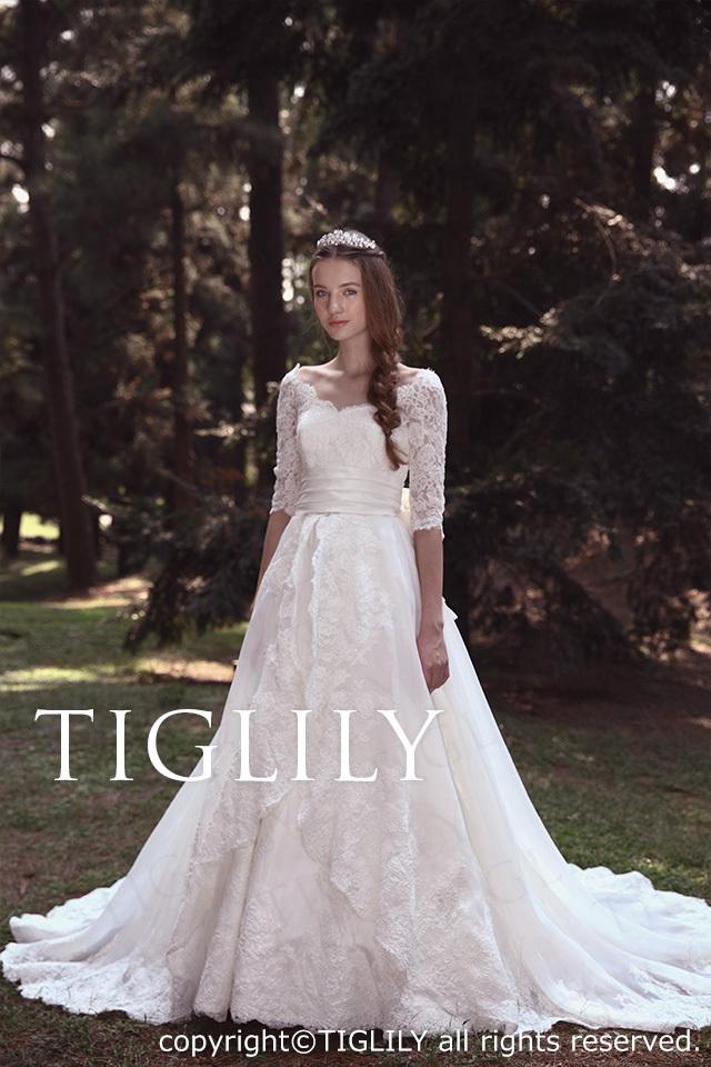 TIGLILY ホワイトドレス w2014