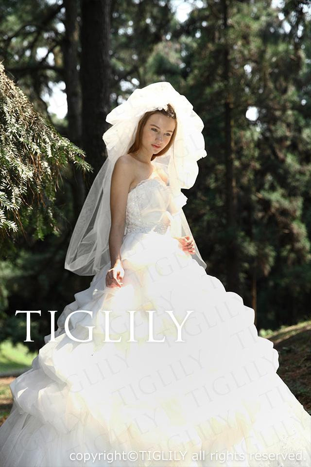 TIGLILY ホワイトドレス w2016