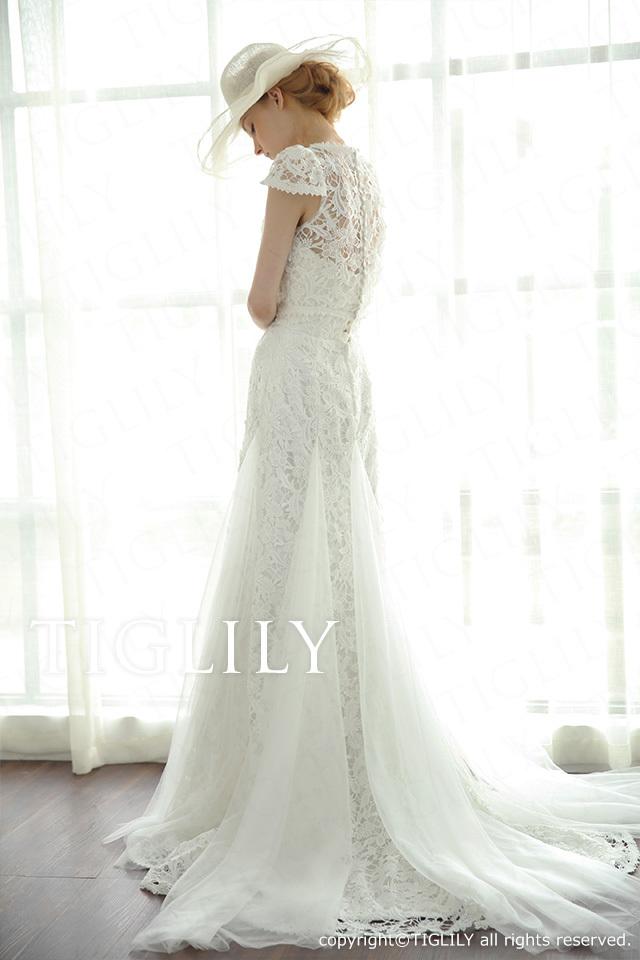 TIGLILY ホワイトドレス w2017