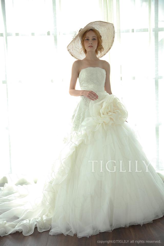 w2018 TIGLILY ティグリリィ ホワイトドレス