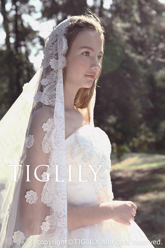 TIGLILY ホワイトドレス w2022