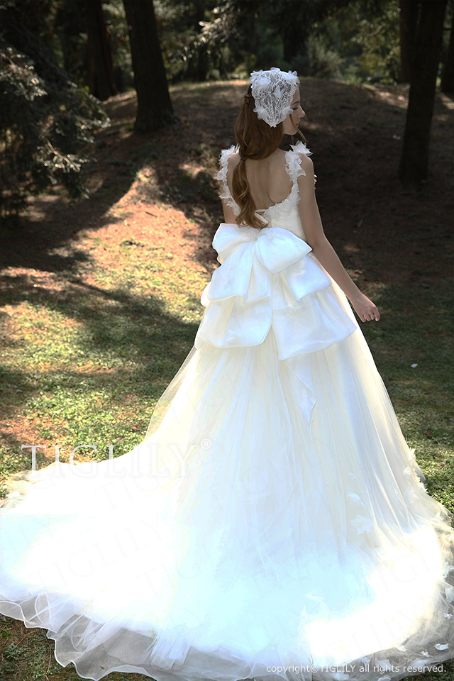 TIGLILY ティグリリィ ホワイトドレス w2024