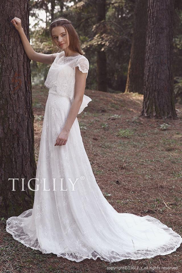 w2026 TIGLILY ティグリリィ ホワイトドレス