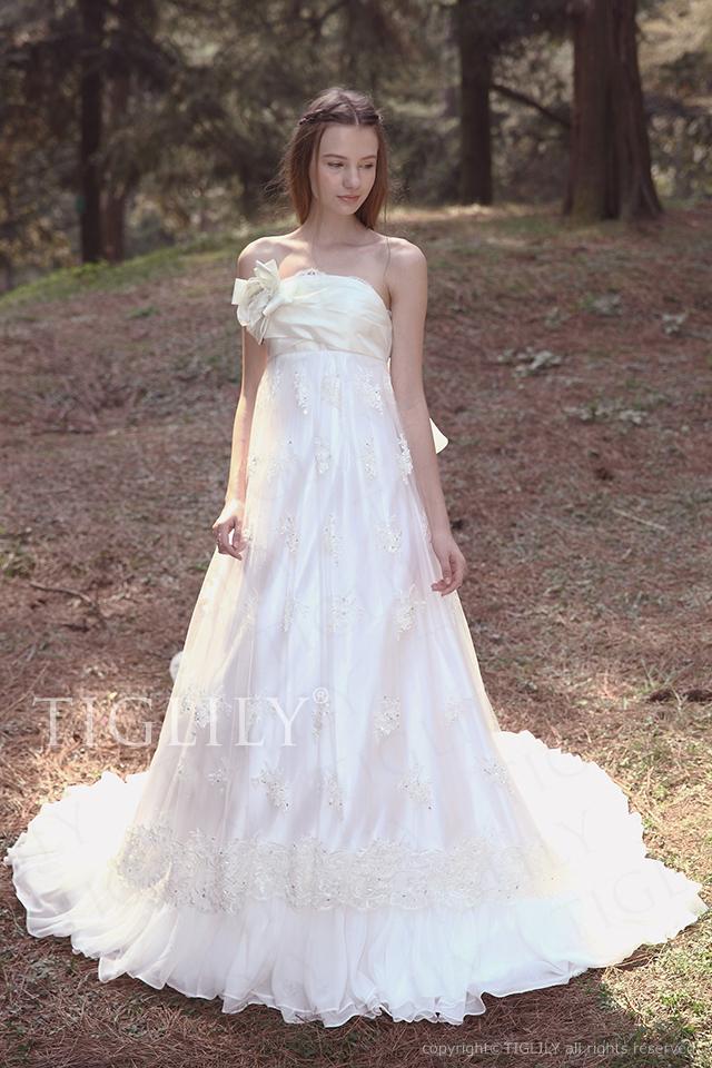 TIGLILY ティグリリィ ホワイトドレス w2029