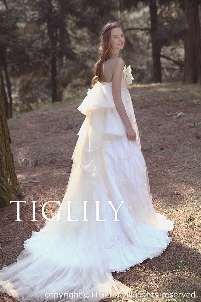 TIGLILY ホワイトドレス w2029