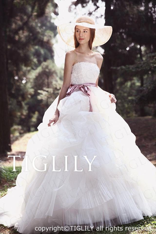 TIGLILY ホワイトドレス w2032