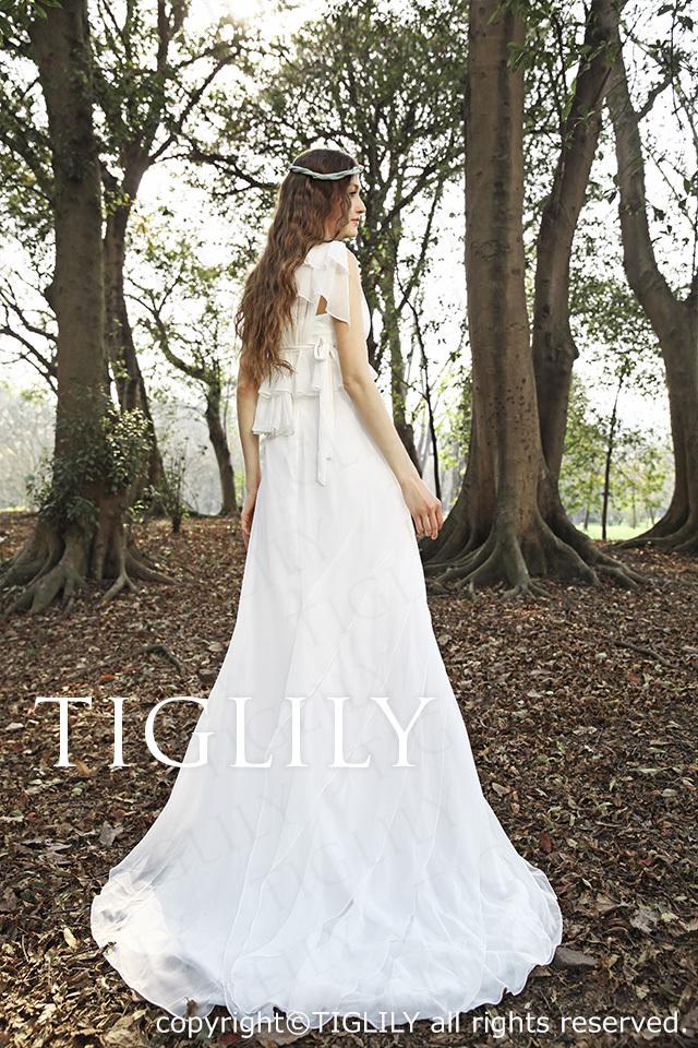 TIGLILY ホワイトドレス w276