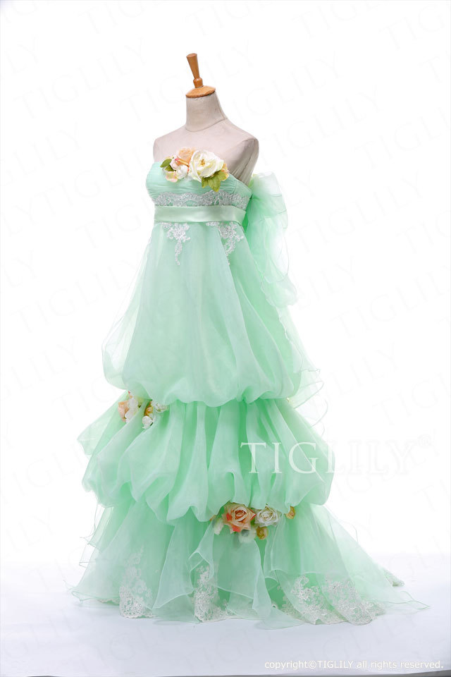 w300 TIGLILY  カラードレス