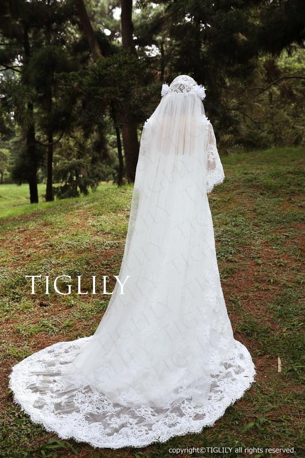 TIGLILY ホワイトドレス w308