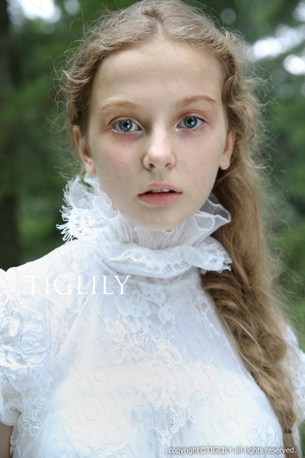 TIGLILY ホワイトドレス w311