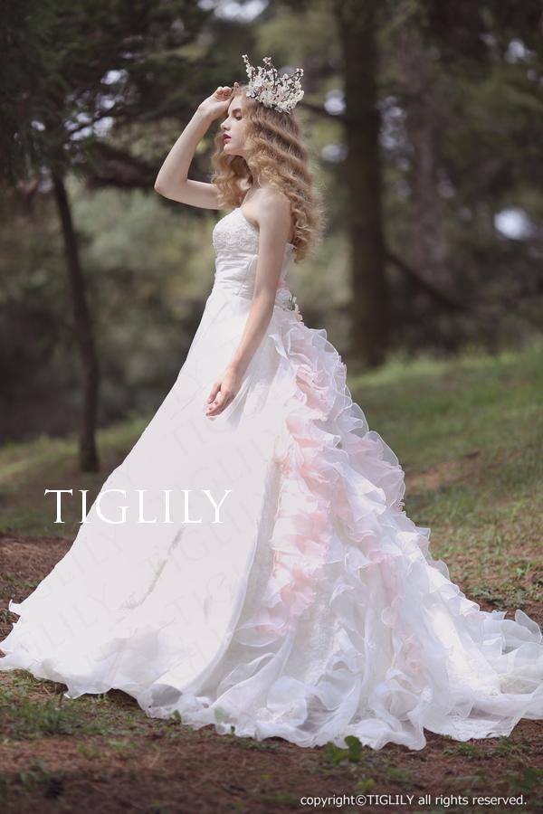TIGLILY ホワイトドレス w312