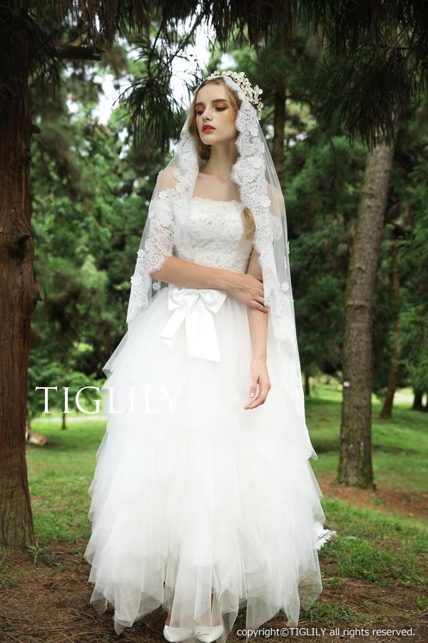 TIGLILY ホワイトドレス w315