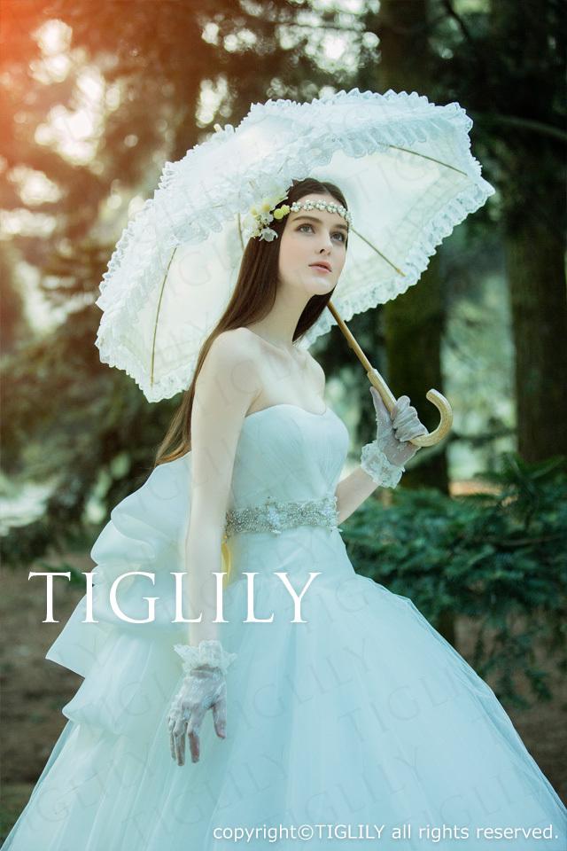 TIGLILY ホワイトドレスw318