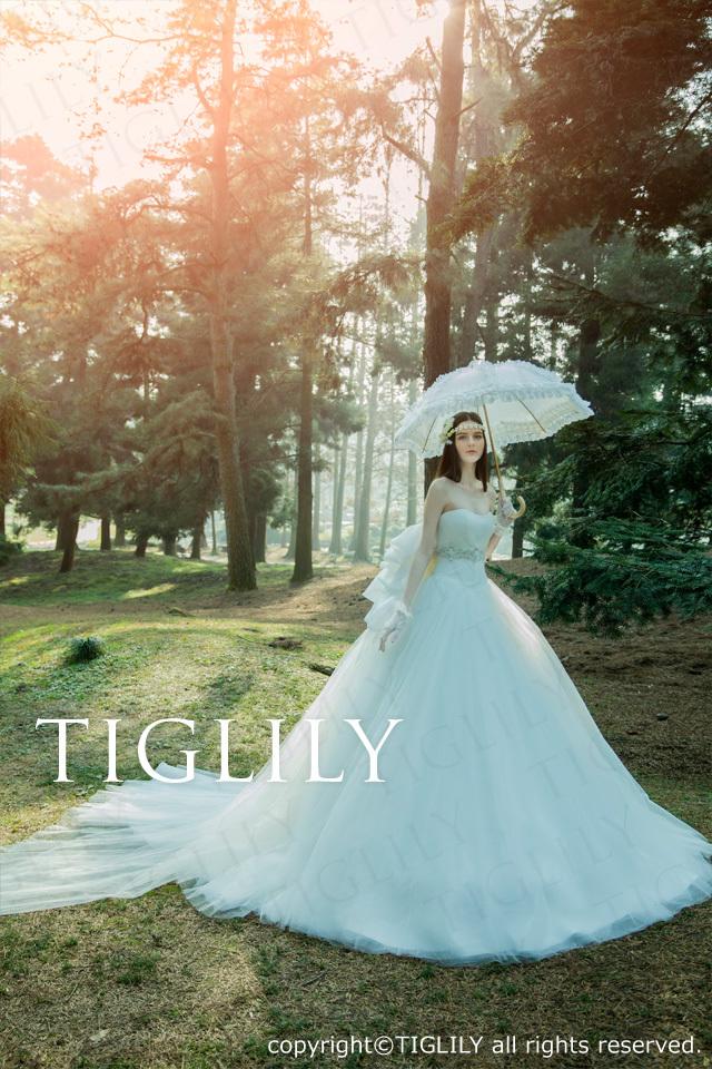 TIGLILY ホワイトドレス w318