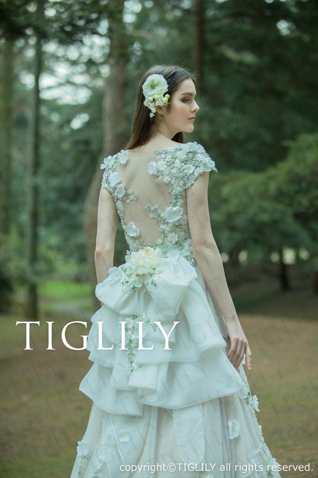 TIGLILY ホワイトドレスw319