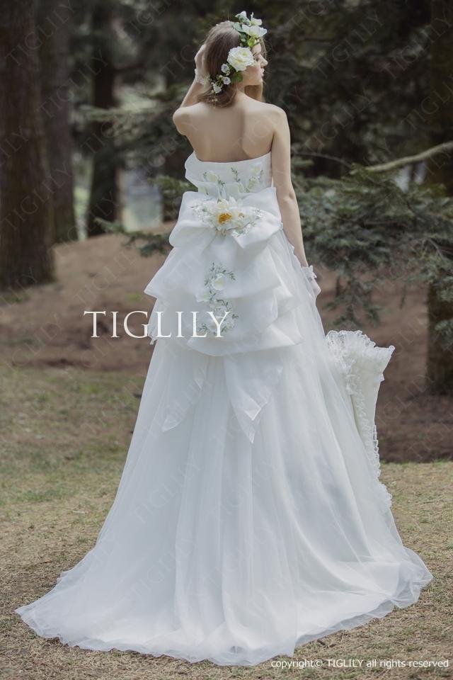 TIGLILY ホワイトドレスw320