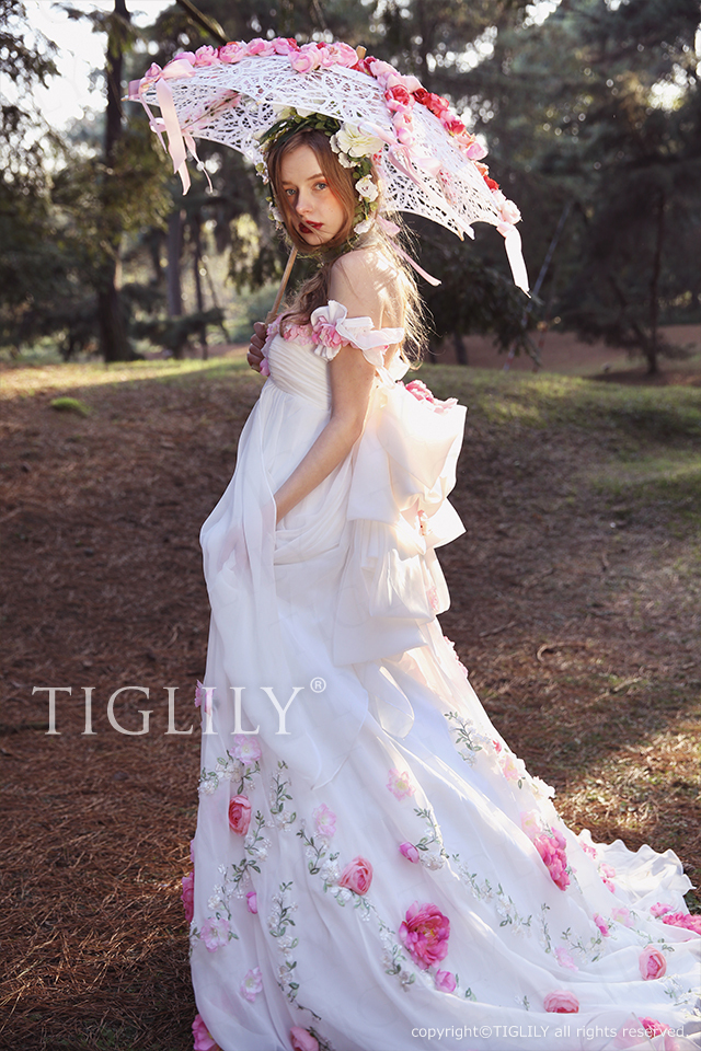 TIGLILY カラードレス w321 ハイジ Heidi
