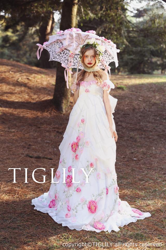TIGLILYカラードレス(w321) ハイジ
