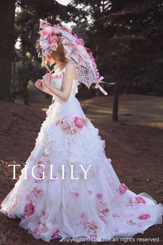 TIGLILYカラードレス(w322) ミシェル